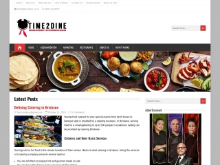 Screenshot for time2dine.co.nz