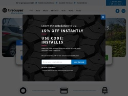 TireBuyer.com screenshot