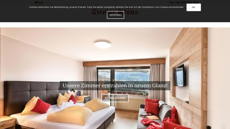 www.tirolerkreuz.com Vorschau, Gasthof Hotel Tiroler Kreuz