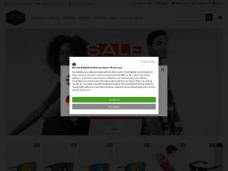 Screenshot der Website titus.de