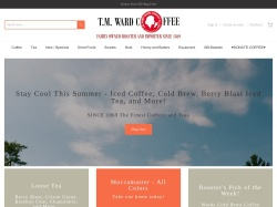 TM Ward Coffee coupon codes April 2019