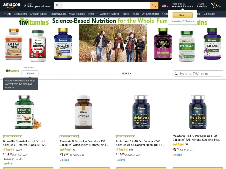Tnvitamins screenshot