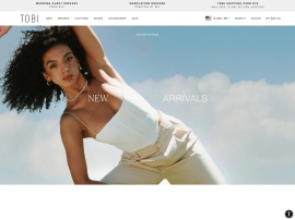 Online store Tobi