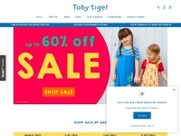 Toby Tiger Fast Coupon & Promo Codes