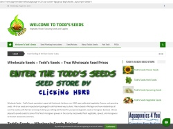 Toddsseeds coupon codes August 2018
