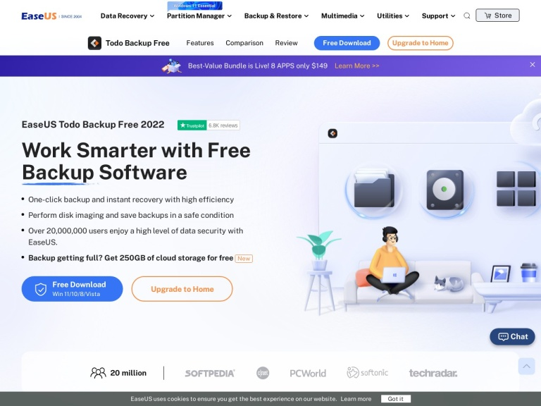 EaseUS Todo Backup Coupon, Get Amazing Discount in 2019 screenshot