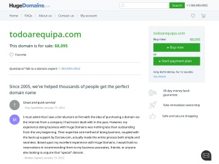 Captura de pantalla para todoarequipa.com