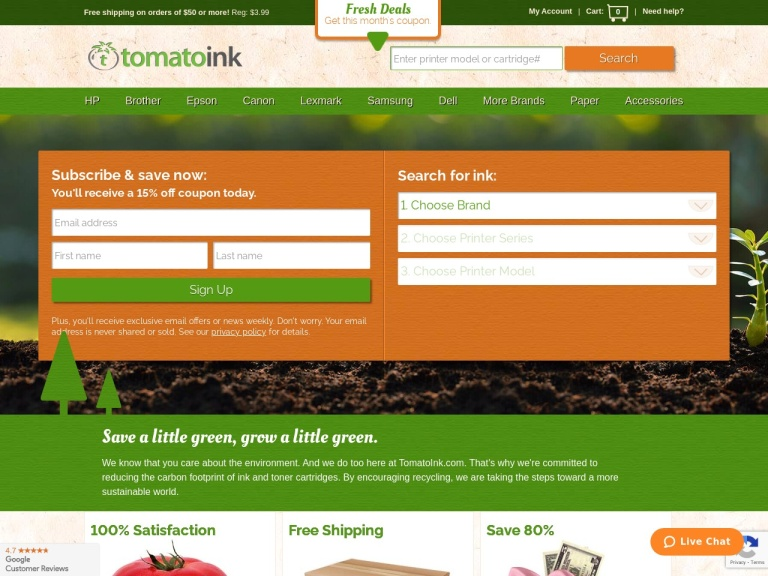 TomatoInk screenshot