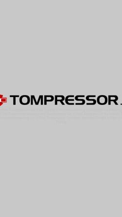 Vorschau der mobilen Webseite www.tompressor.ch, Tomotos GmbH