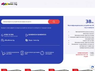 Screenshot for toner.bg