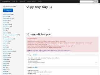 Screenshot stránky topindex.sk