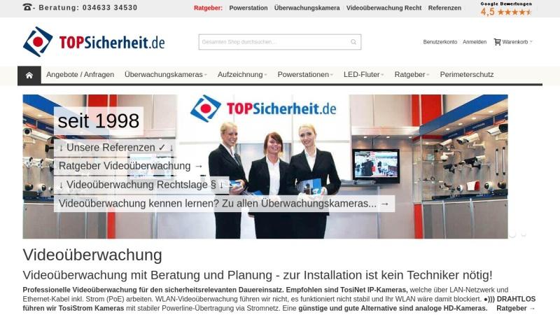 www.topsicherheit.de Vorschau, Gmyrek Elektronik GmbH