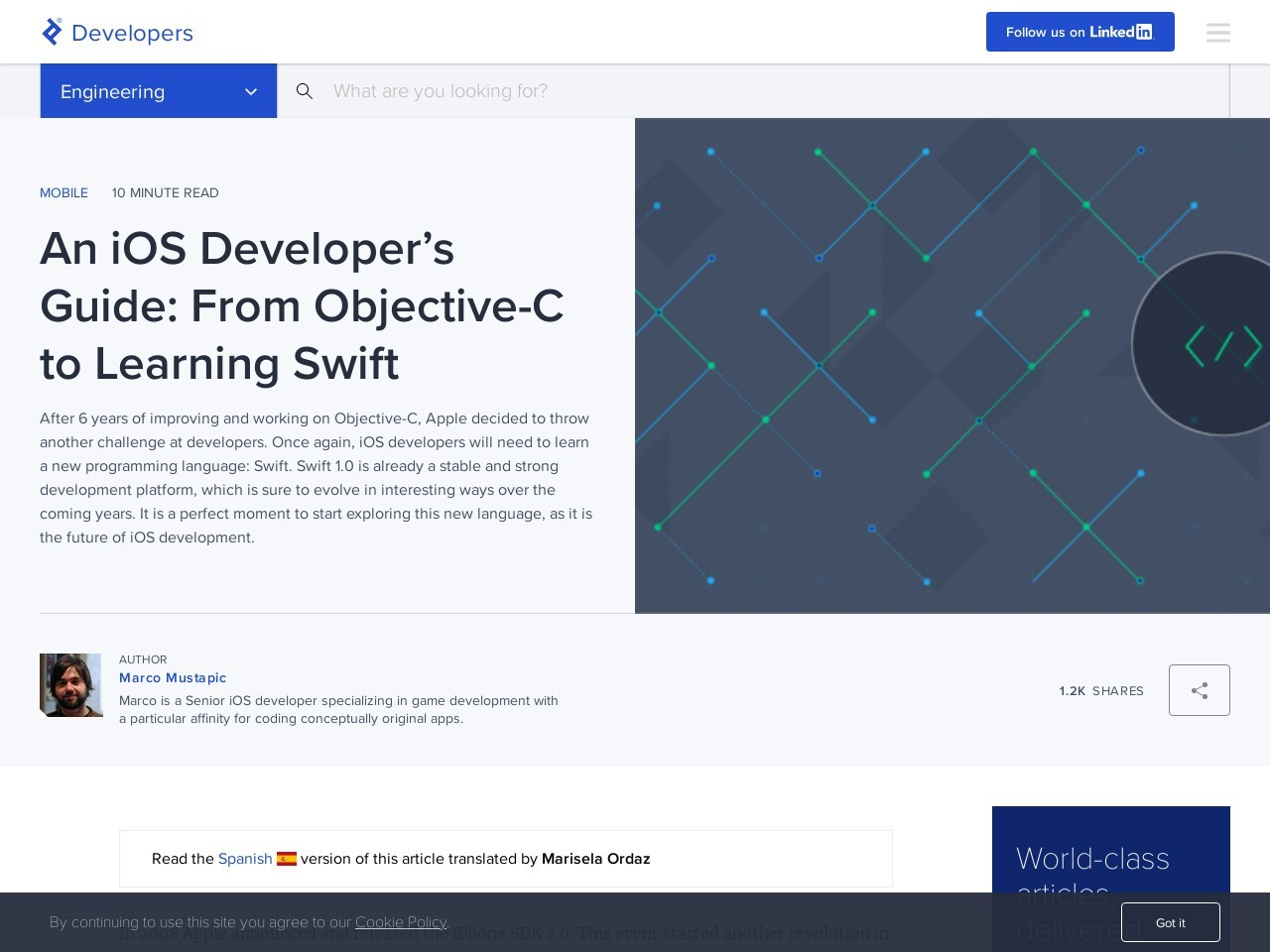 From Objective-C to Swift | Toptal
