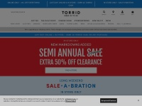 Torrid Fast Coupon & Promo Codes
