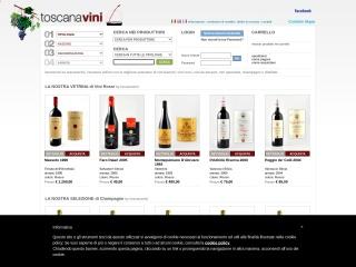 screenshot toscanavini.com