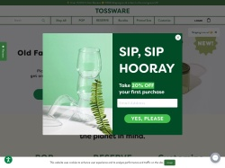 Tossware coupon codes January 2018