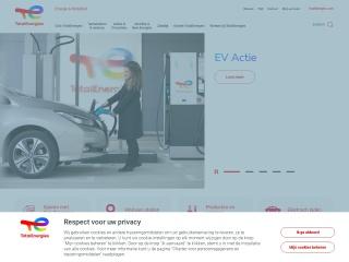 Screenshot voor total.nl