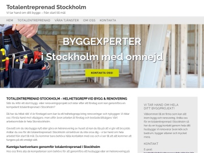 totalentreprenadstockholm.biz