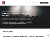 The Best Events Management Company | Total Events