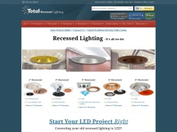 Total Recessed Lighting coupon codes June 2018