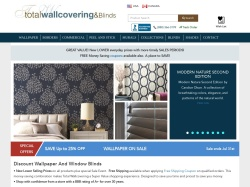 Total Wallcovering coupon codes March 2018
