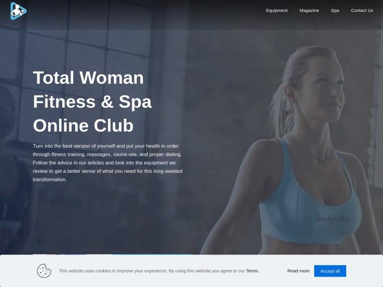 Total Woman Gym screenshot