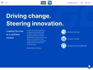 Screenshot bagi touchngo.com.my
