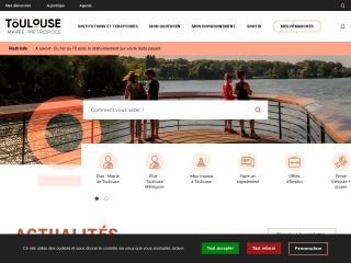 Capture d'écran pour toulouse.fr