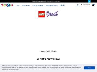 Screenshot for toysrus.com