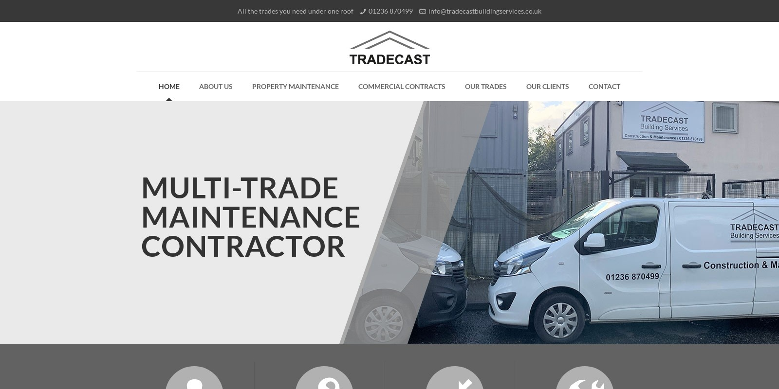 Preview of http://www.tradecastbuildingservices.co.uk