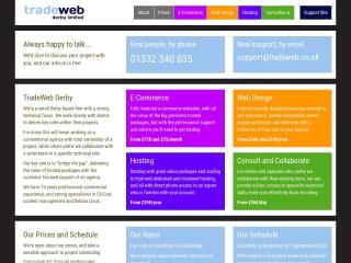 Screenshot for tradeweb.co.uk
