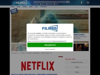 Screenshot der Website trailerseite.de