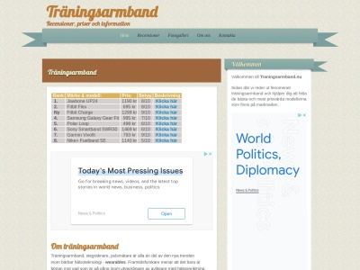 www.traningsarmband.nu