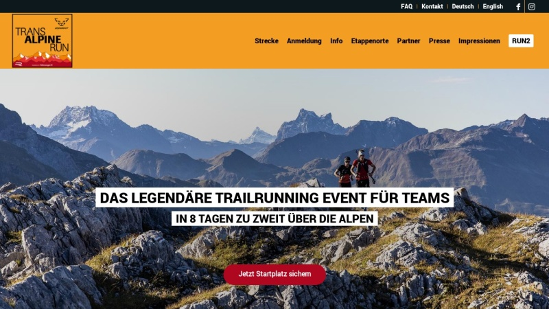 www.transalpine-run.com Vorschau, Gore-Tex-Transalpine-Run