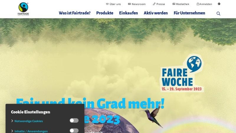 www.transfair.org Vorschau, Fairtrade - TransFair e.V.