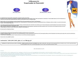 Screenshot der Website transgender.at