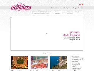 screenshot trattorialascogliera.com