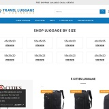 Free UK delivery at Travel Luggage and Cabin Bags Ltd