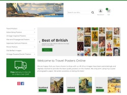 Travelpostersonline coupon codes May 2019