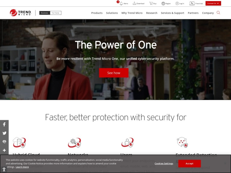 Trend Micro Home & Home Office screenshot