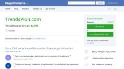 www.trendspion.com Vorschau, Trendspion