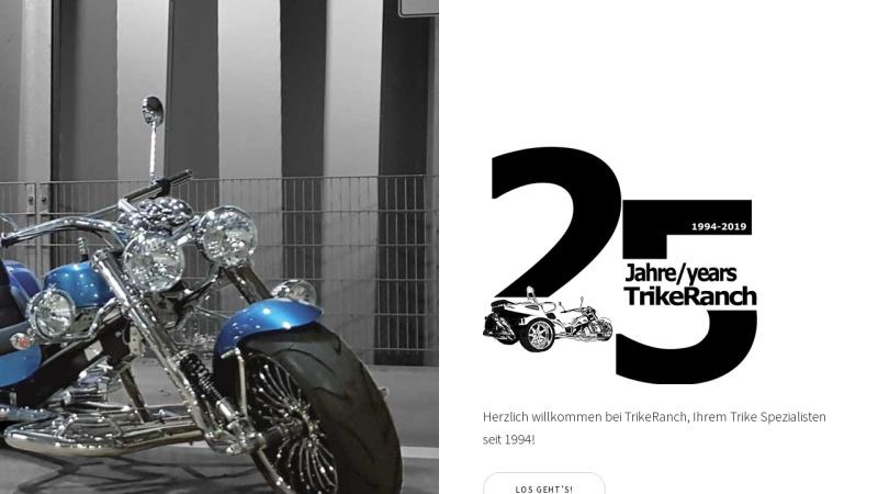 www.trikeranch.de Vorschau, TrikeRanch - Helmut Gut
