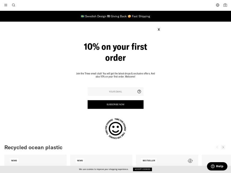 Triwa Promo Codes screenshot