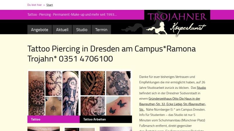 www.trojahner.de Vorschau, Trojahner Körperkunst