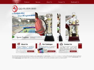 Screenshot bagi trophymalaysia.com.my