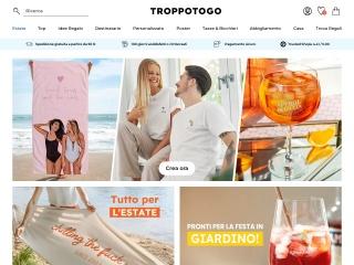 Screenshot del sito troppotogo.it