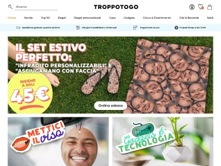 screenshot troppotogo.it