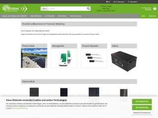 Screenshot der Website trotronic.at