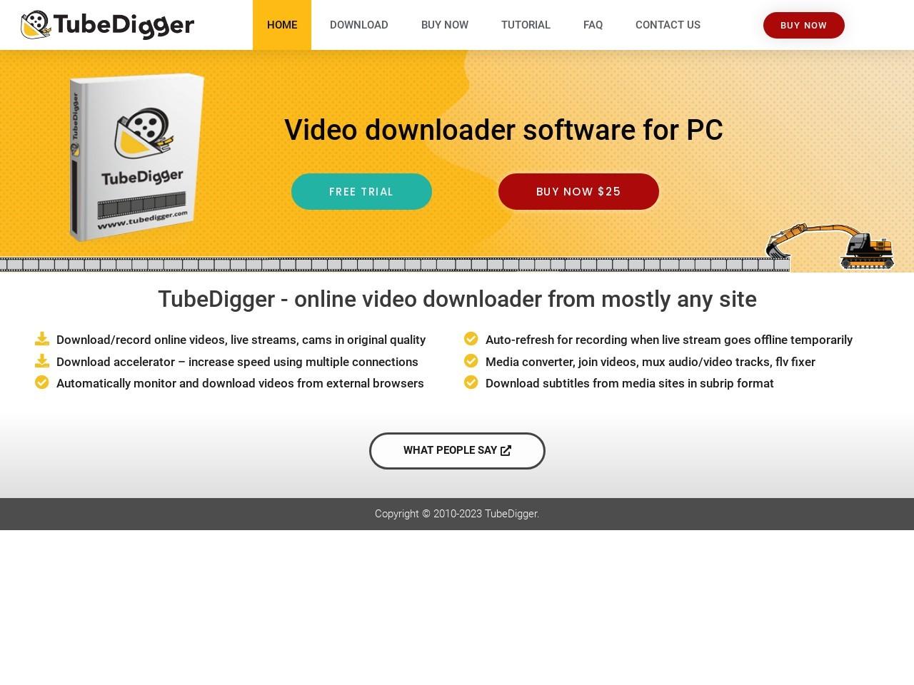 TubeDigger TubeDigger Coupon Sale