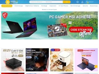 Capture d'écran pour tunisianet.com.tn